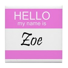 Zoe Tile Coaster