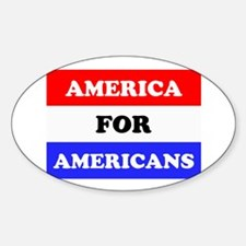 Americans Decal