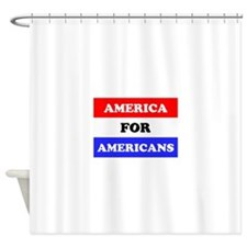 Americans Shower Curtain