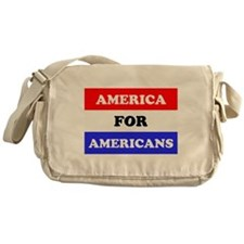Americans Messenger Bag
