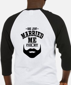 Married Beard Baseball Jersey