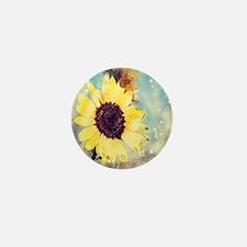 romantic summer watercolor Mini Button (100 pack)