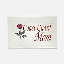 coast guard mom Rectangle Magnet