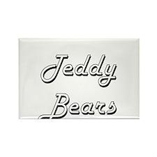Teddy Bears Classic Retro Design Magnets