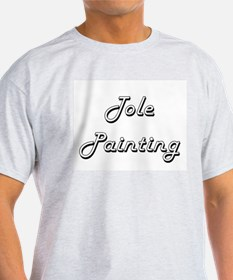 Tole Painting Classic Retro Design T-Shirt
