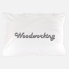 Woodworking Classic Retro Design Pillow Case