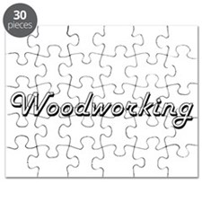 Woodworking Classic Retro Design Puzzle