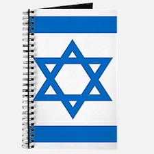 Square Israeli Flag Journal