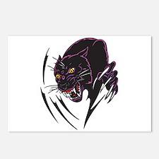 Black Panther Tribal Design Postcards (Package of