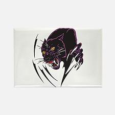 Black Panther Tribal Design Rectangle Magnet