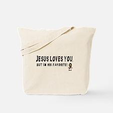 Jesus Loves You Tote Bag