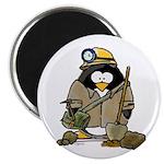 Miner Penguin Magnet
