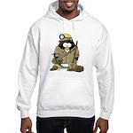 Miner Penguin Hooded Sweatshirt