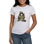 Miner Penguin Women's T-Shirt
