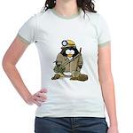 Miner Penguin Jr. Ringer T-Shirt