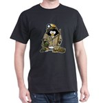 Miner Penguin Dark T-Shirt