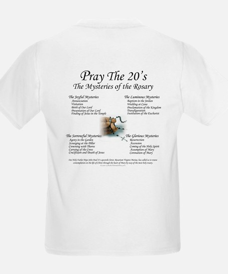 Our Lady of the Rosary Kids T-Shirt