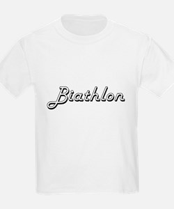 Biathlon Classic Retro Design T-Shirt