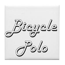 Bicycle Polo Classic Retro Design Tile Coaster