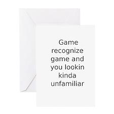 Unique Recognize Greeting Card