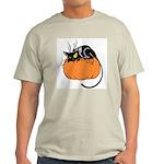 Cat w/ Pumpkin Light T-Shirt