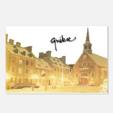 Inside Old Quebec with Signat Postcards (Package o
