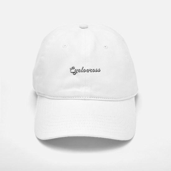 Cyclocross Classic Retro Design Baseball Baseball Cap