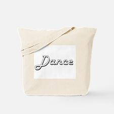 Dance Classic Retro Design Tote Bag