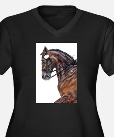Dressage Plus Size T-Shirt