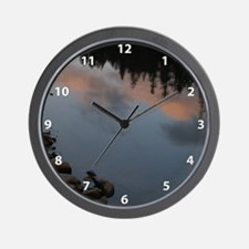 Placid Water Wall Clock