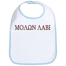 Molon Labe Bib