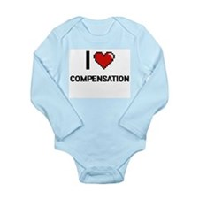 I love Compensation Digitial Design Body Suit
