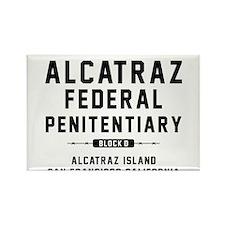 Cute Alcatraz prison Rectangle Magnet