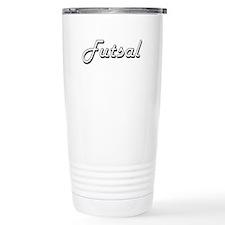 Futsal Classic Retro De Travel Mug