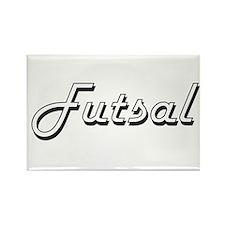 Futsal Classic Retro Design Magnets