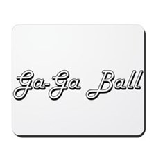 Ga-Ga Ball Classic Retro Design Mousepad