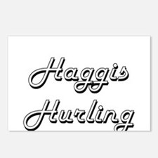 Haggis Hurling Classic Re Postcards (Package of 8)