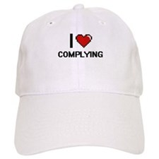 I love Complying Digitial Design Baseball Cap