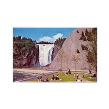 Montmorency Falls Quebec City Rectangle Magnet