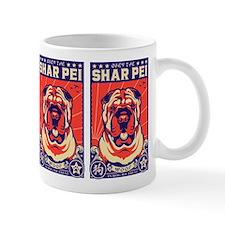 Obey the Shar Pei! Propaganda Mug