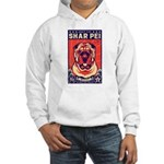 Obey the shar Pei! Hooded Sweatshirt