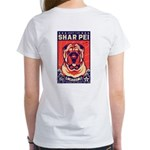 Obey the Shar Pei! Women's 2-sided T-Shirt