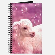 Baby Goat Whitey Journal