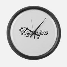 Kempo Classic Retro Design Large Wall Clock