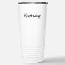 Kickboxing Classic Retr Travel Mug