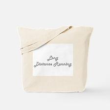 Long Distance Running Classic Retro Desig Tote Bag