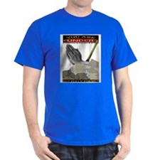 hand black fully formed T-Shirt