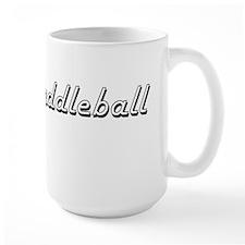 Paddleball Classic Retro Design Mugs