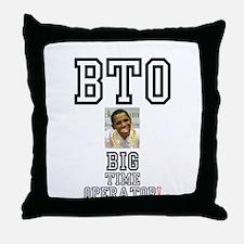 OBAMA - BTO - BIG TIME OPERATOR Throw Pillow
