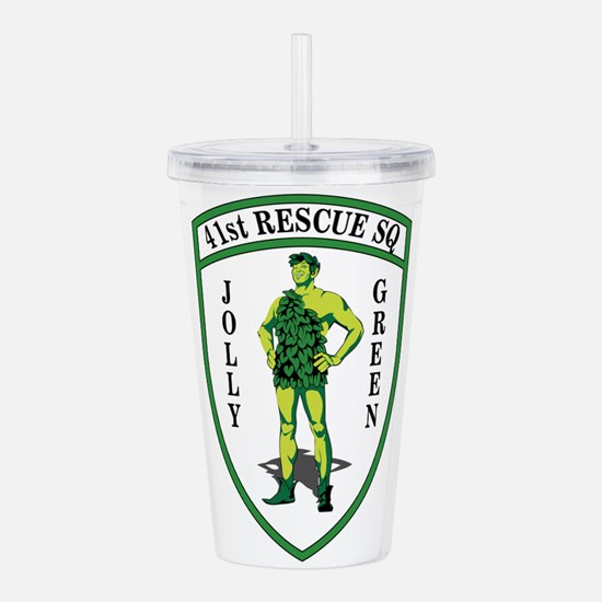 41st Rescue SQ Jolly G Acrylic Double-wall Tumbler